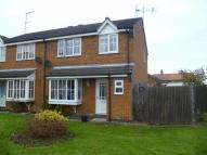 3 bedroom semi detached home for sale in Manor Close, Nafferton...