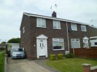 semi detached home for sale in Cherry Way, Nafferton...