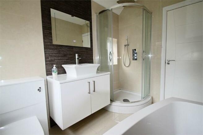 Bathroom with ...
