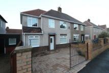 4 bedroom semi detached property in Barnaby Crescent...