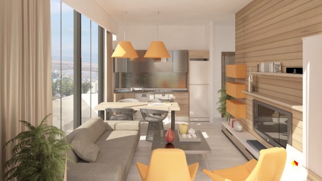 1+1 living room 2