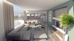 2+1 living room