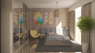 2+1 bedroom