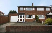 3 bedroom home in Conway Road, Hanworth