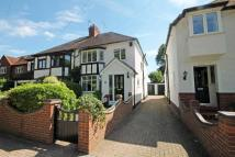 semi detached property in Manor Drive...