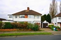 Timbercroft semi detached house for sale