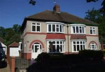 semi detached house in Danesmoor Crescent...