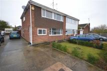 semi detached property to rent in Sutton Avenue, Neston...