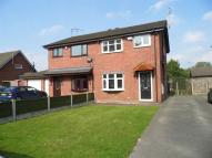 semi detached house to rent in Coleridge Way, Crewe