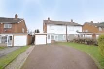 semi detached property in Marlpit Lane, Four Oaks