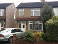 Avondale Road semi detached house to rent