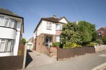 4 bedroom semi detached home in Burrill Avenue...
