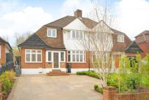 3 bedroom semi detached home in Eversley Road...
