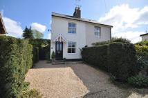 2 bed semi detached property for sale in Hall Road, Copford...