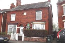 semi detached property to rent in Wharton Road, Winsford...