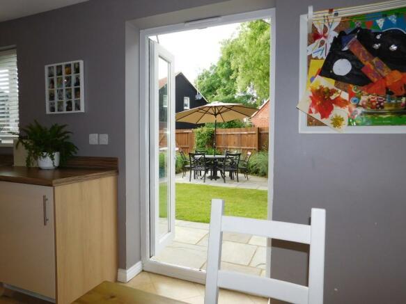 Kitchen garden view