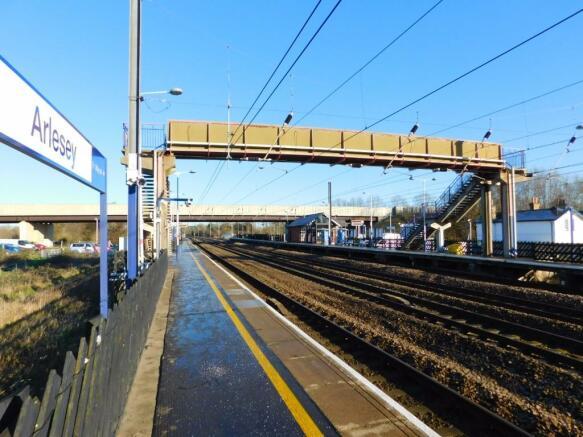 Arlesey Train Stn