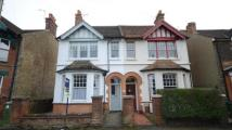 2 bedroom semi detached home in Park Road, Aldershot...