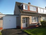 3 bed semi detached property to rent in Brynymor Road, Gowerton...