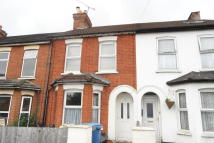 Terraced house in Holly Road, Aldershot...