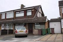 semi detached house in Sherdley Park Drive...