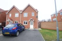 3 bedroom semi detached property in Darbyshire Close...