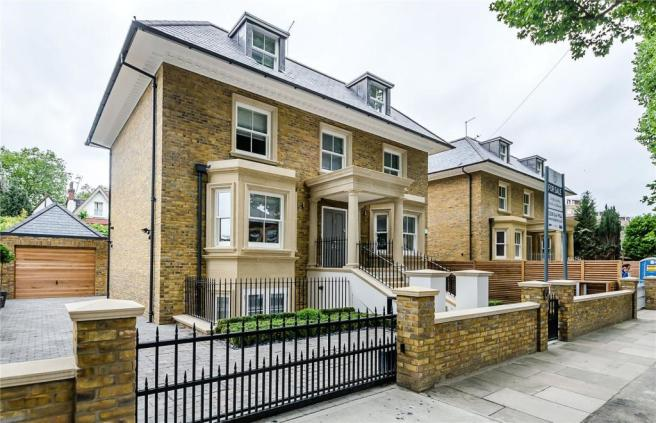 5 bedroom detached house for sale in albany park road kingston upon thames kt2 kt2