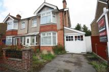 3 bedroom semi detached home for sale in Clarendon Road, Ashford...