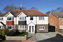 semi detached house in Whitehall Road, Bromley...