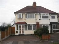 semi detached house to rent in Beverley Grove, Sheldon
