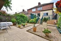 semi detached property in Hillside Road, Norton...