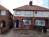 semi detached home in Bushey Mill Cresent...