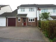 4 bed semi detached property in Morgan Way...