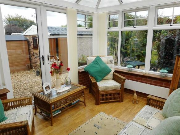 CHARTWELL GREEN PVCu CONSERVATORY measuring