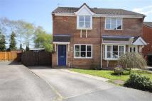 semi detached house in Dryden Way, Cheadle...