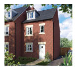 new development for sale in The Uplands Biddulph...