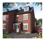 3 bedroom new home for sale in The Uplands Biddulph...
