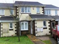 Terraced house in Harris Close, Kelly Bray...