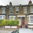 Terraced house in Winchelsea Road, London...