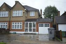 semi detached home to rent in Bulmer Gardens, Kenton...