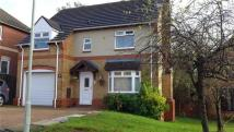 4 bed Detached house in Cwrt Faenor, Manor Chase...
