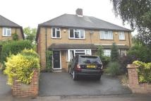 3 bed semi detached house in Winterscroft Road...