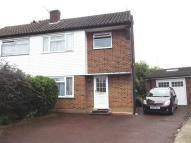 3 bedroom semi detached house in Beverley Close...