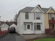 3 bedroom semi detached house to rent in 61 Pontardawe Road...