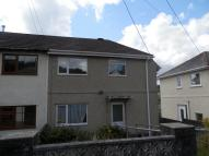 semi detached house for sale in 30 Tan Yr Allt Road...