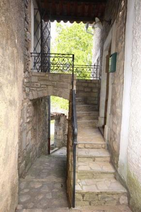 Passage between the