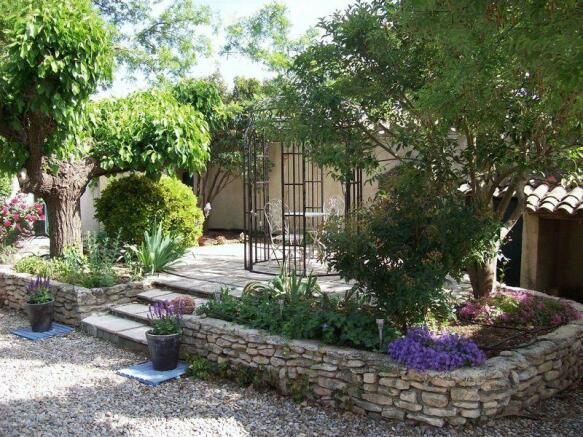Private garden-...