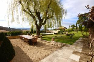 Terrace, pool and
