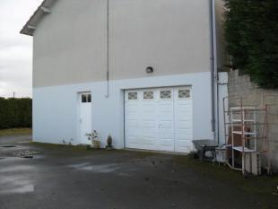 The garage from the