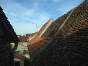View over rooftops